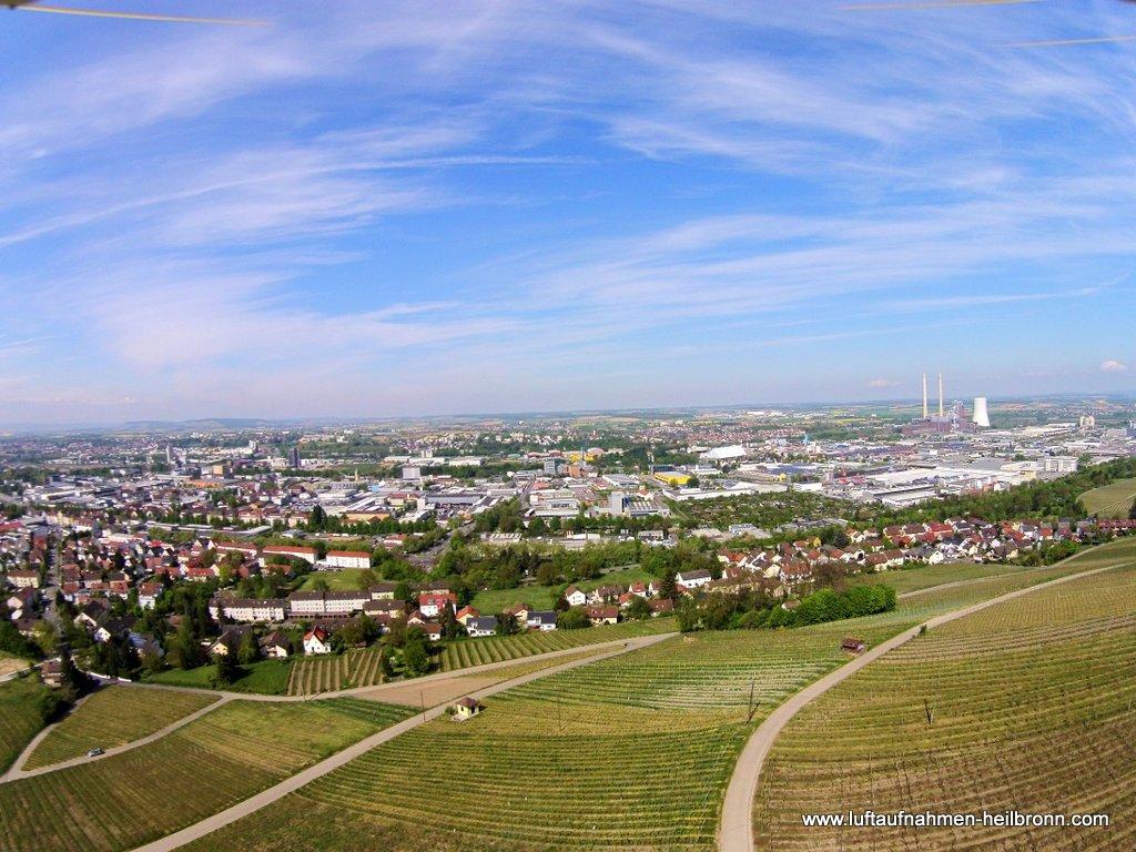 Luftbilder Heilbronn, Industriegebiet