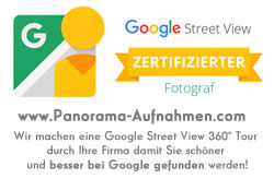 360grad Panoramaaufnahmen, Google Street View  Fotogtraf